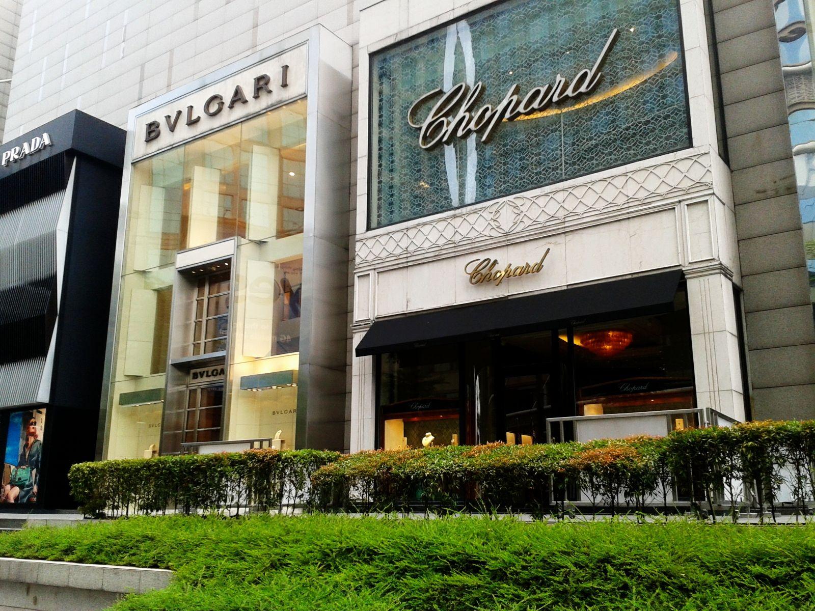 Glamorous Pavilion Kuala Lumpur Mall Design Shop Front Retail Design