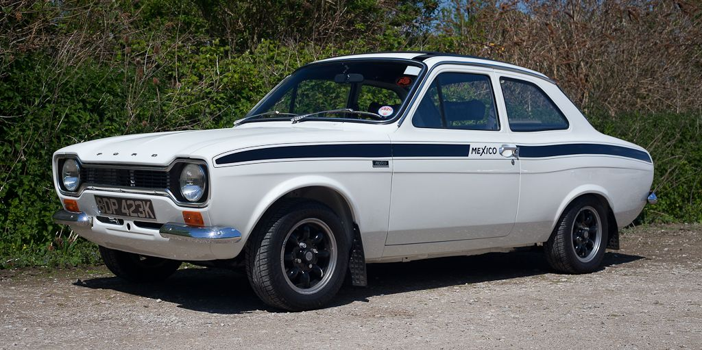 Ford Escort Mark 1 White Blue Decals | Cars | Pinterest | Ford ...