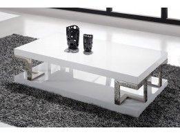 Salon Tafel Wit : Salontafel claire wit interieurvannu modern design