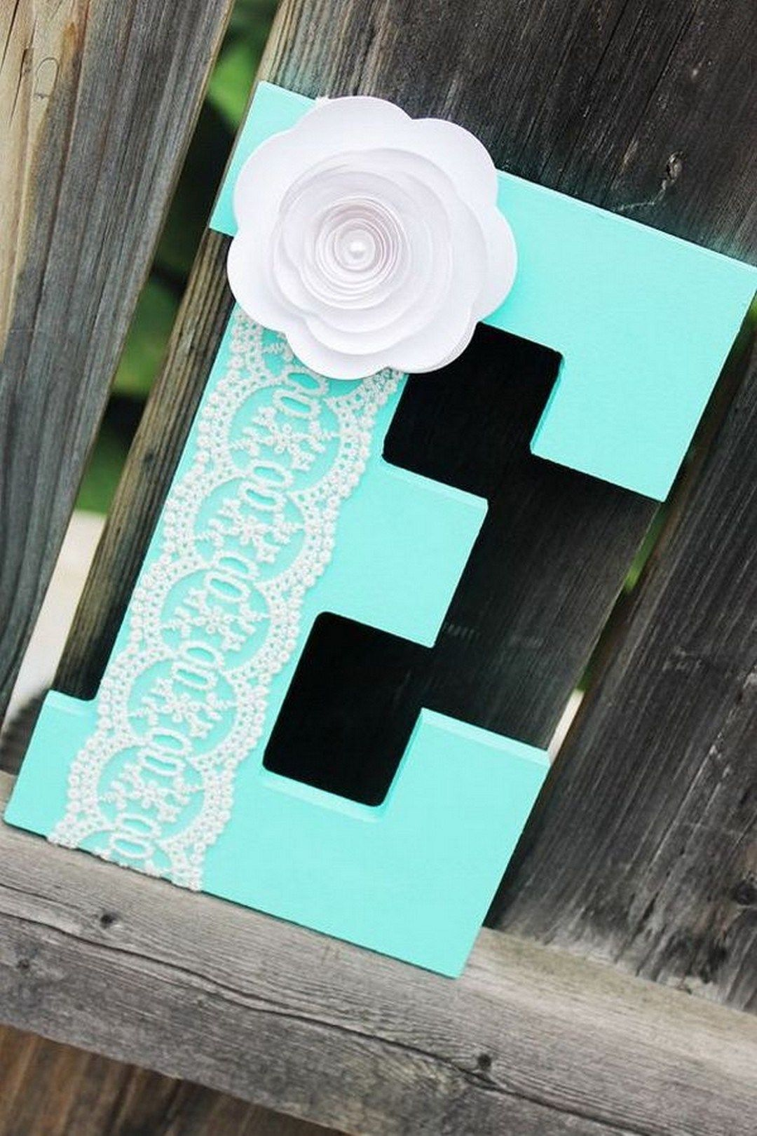 38 Pretty Diy Decorative Letter Ideas Tutorials