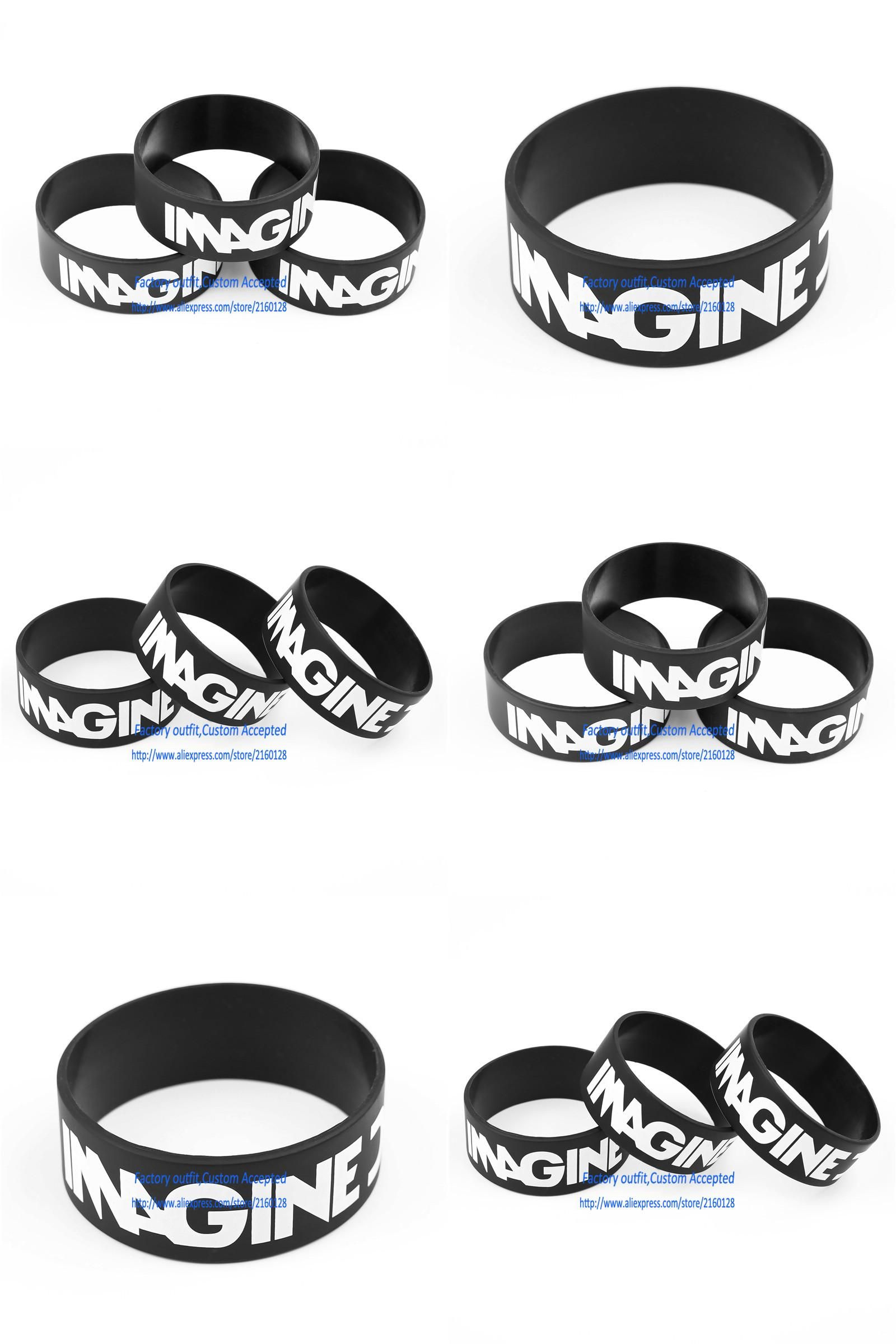 Visit to buy image dragon silicone wristband bracelets fans gift