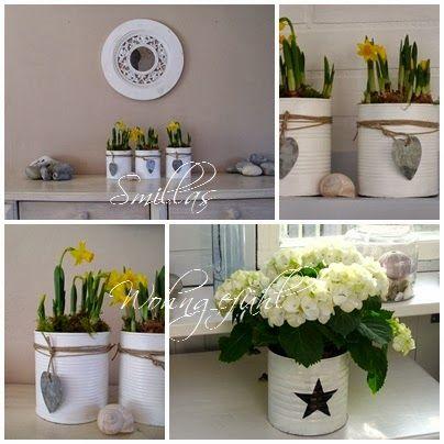 diy upcycled cans oder dosen aufh bschen leicht gemacht wohnung pinterest fr hling deko. Black Bedroom Furniture Sets. Home Design Ideas