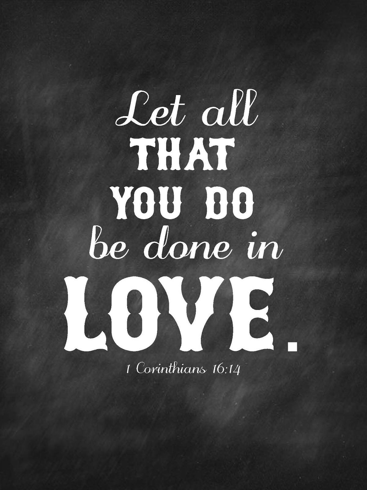Chalk Verses Set 1 Bible Quotes Greatest Commandment Quotes