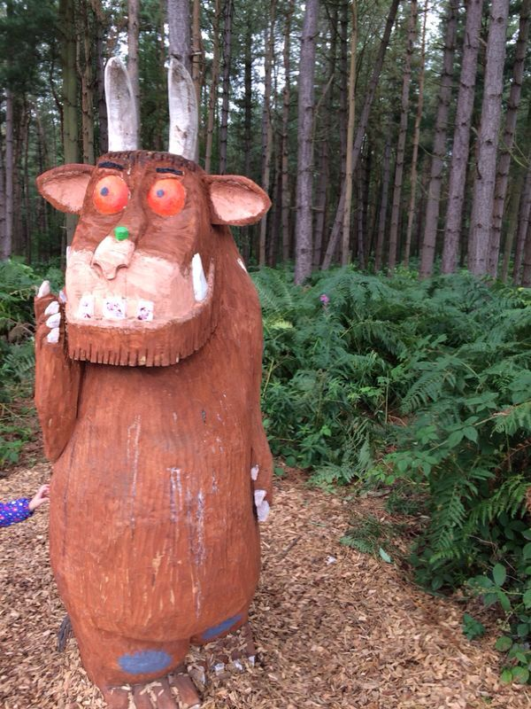 A superb family day out at #DelamereForest on the #GruffaloTrail