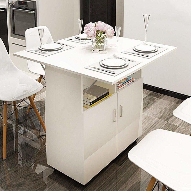 Caspian Foldable Dining Table Kitchen Design Small Foldable Dining Table Small Kitchen Organization
