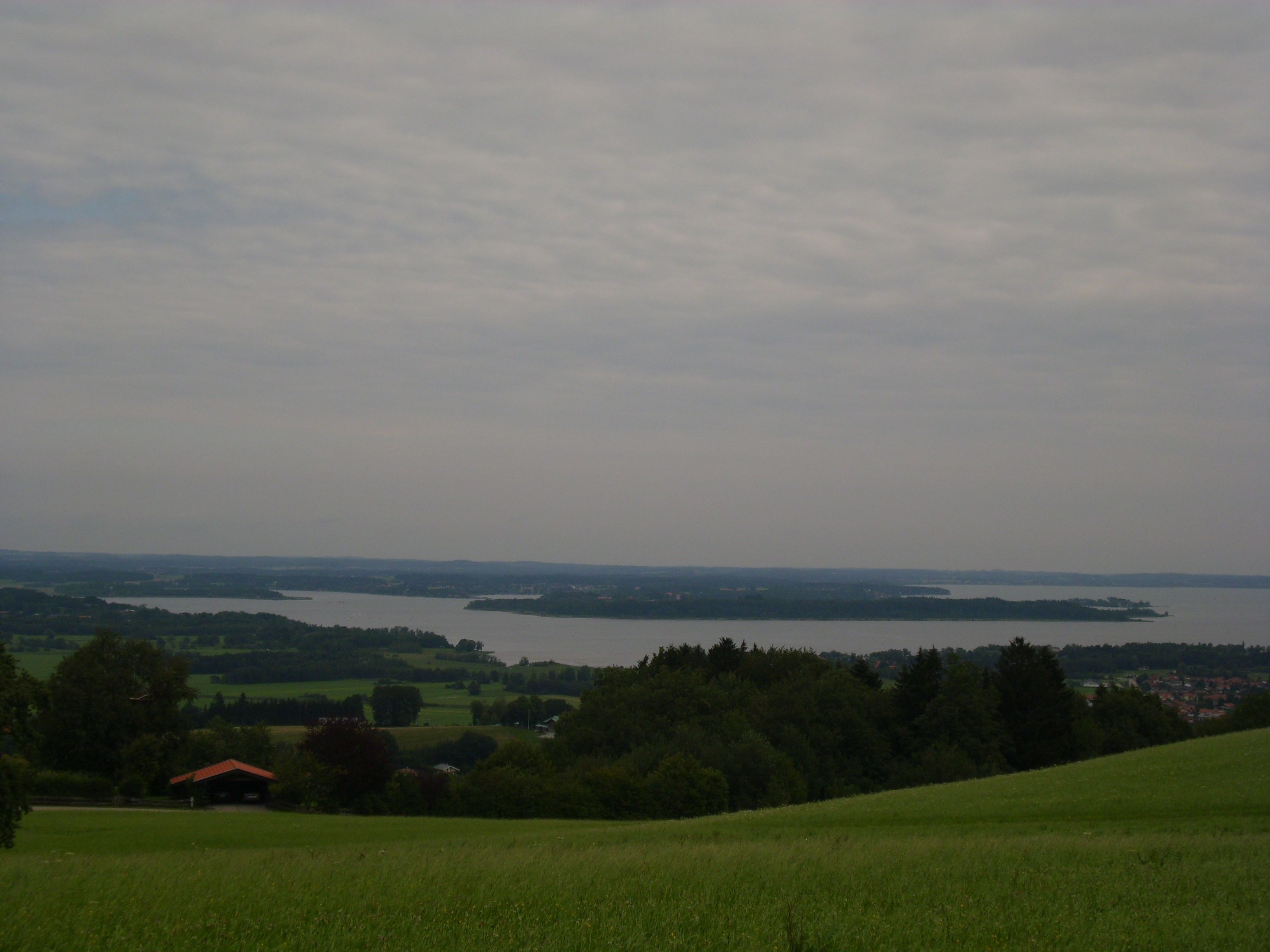 Chiemsee, The  Biggest  And  Beautiful  Lake  In  Bavaria, Germany