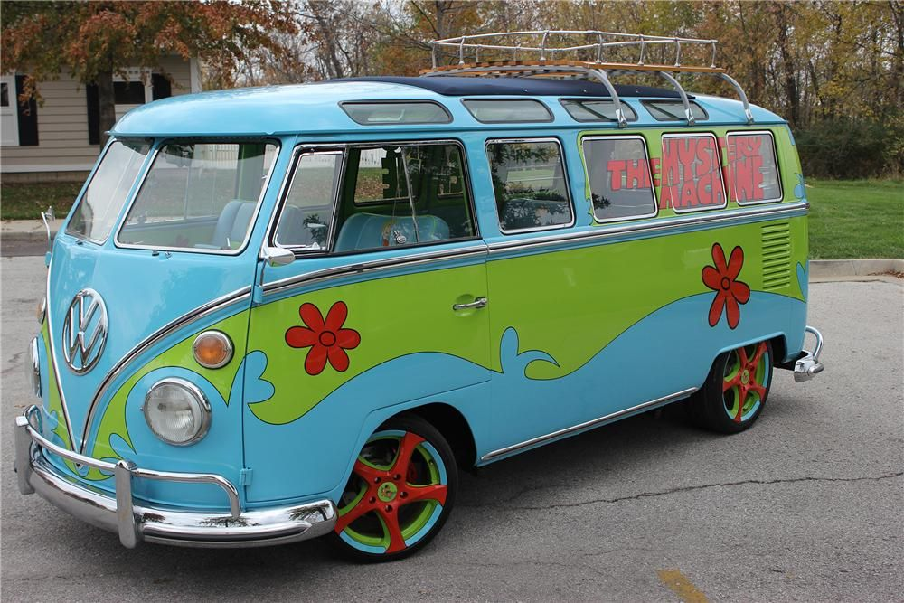 Scooby Doo Mystery Van. Check! It! Out! Up for auction in Arizona in 8  days! It s amazing! 1967 VOLKSWAGEN 21 WINDOW CUSTOM BUS. Please mention  you saw this ... b156f40e3