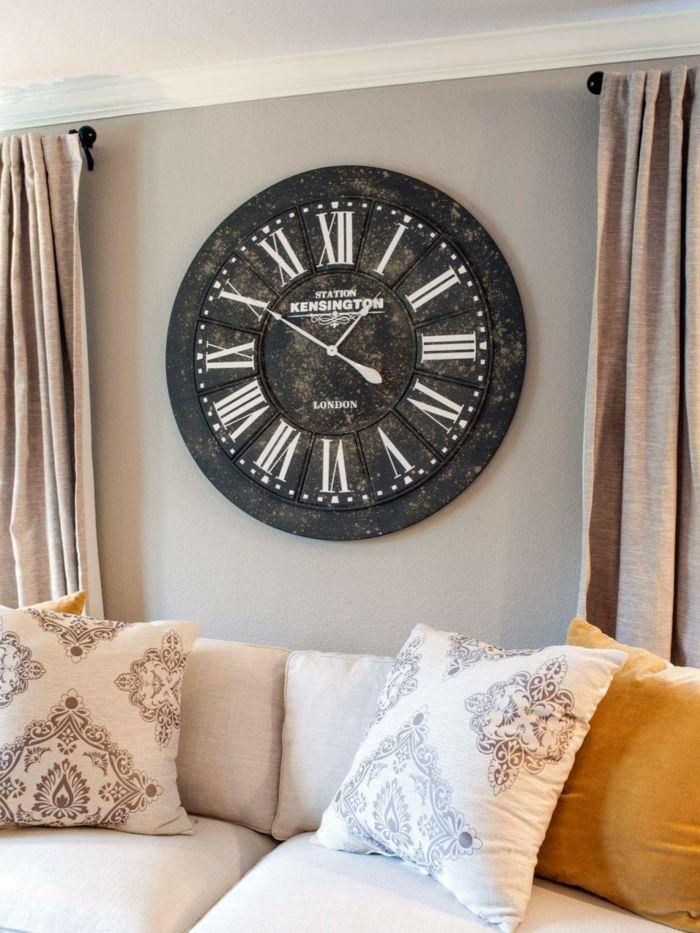 wanduhren wohnzimmer modern wanduhren modern günstig online kaufen ... - Wanduhr Für Wohnzimmer