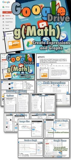 create and insert math expressions and graphs in google docs sheets