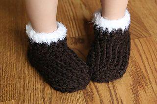 Kids Chunky Slippers pattern by Crochet by Jennifer ...