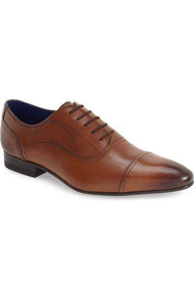 60308d0d2 Ted Baker London  Umbber  Cap Toe Oxford (Men) available at  Nordstrom