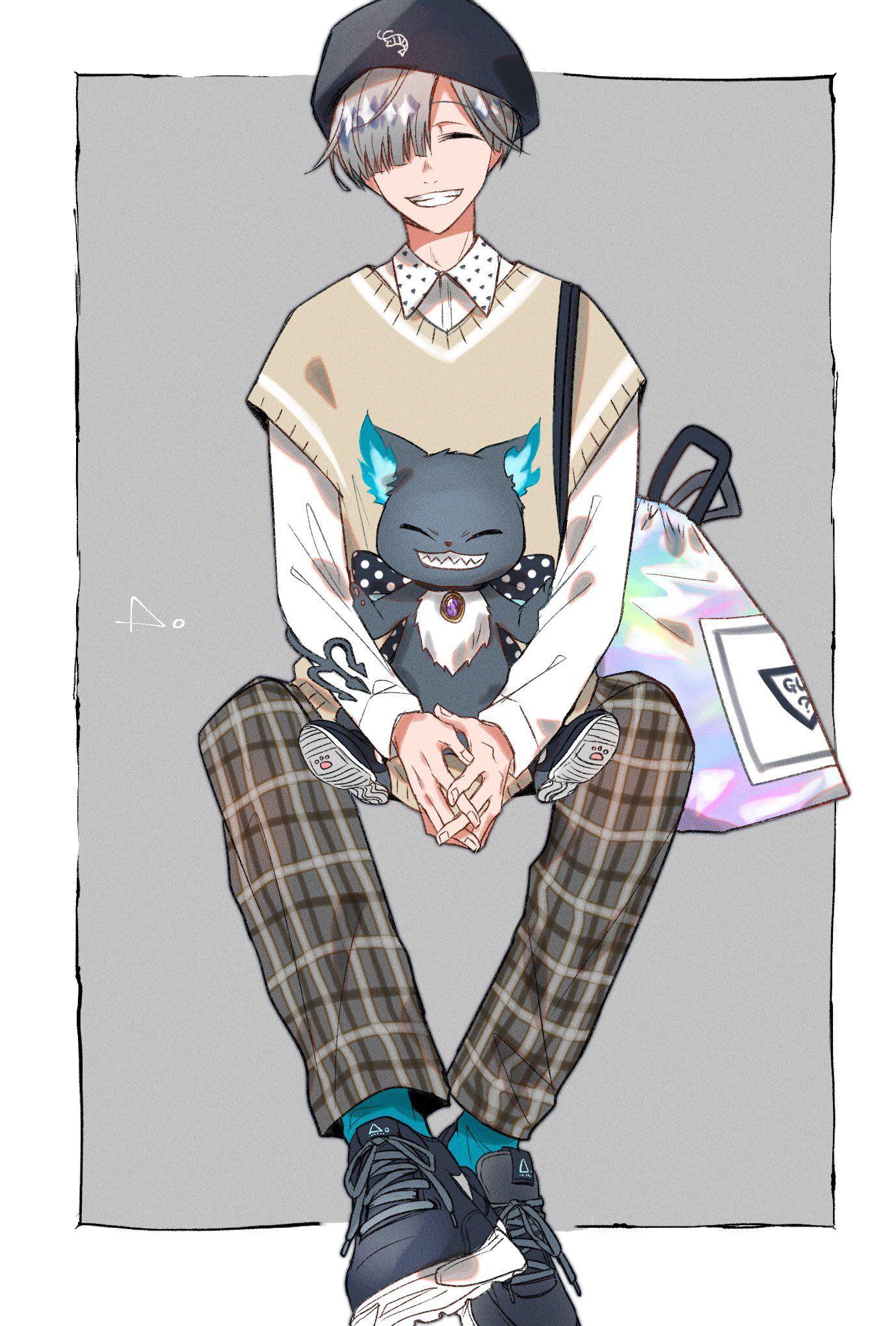 ツイステ おしゃれまとめの人気アイデア pinterest valerie かわいいアニメの少年 ディズニー 悪役イラスト ディズニーファンアート