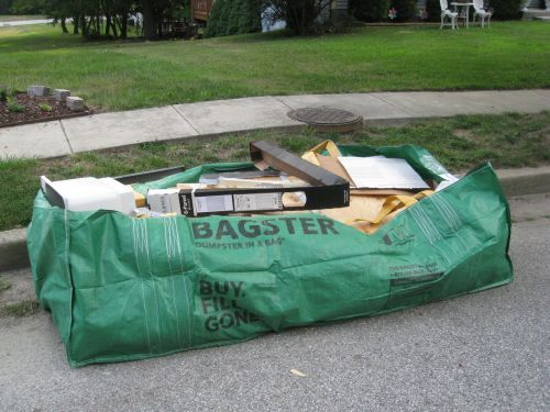 Bagster Review Waste Management S Alternative To Dumpster Al
