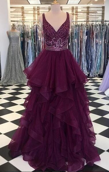 dcd764fb0e2 Fashion Beading Bodice Long Prom Dress Semi Formal Dresses Wedding Party  Dress LP145
