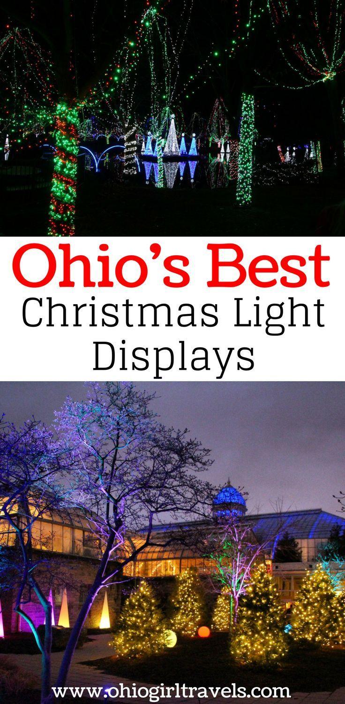 Ohio\'s Best Christmas Lights Displays   Christmas lights, Ohio and ...