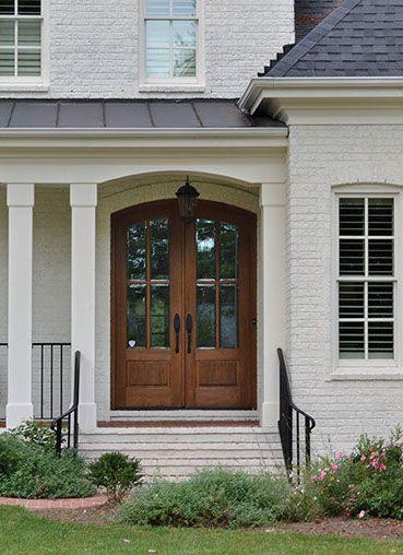 white craftsman front door. diy idea for old suitcase arched front doordouble white craftsman door