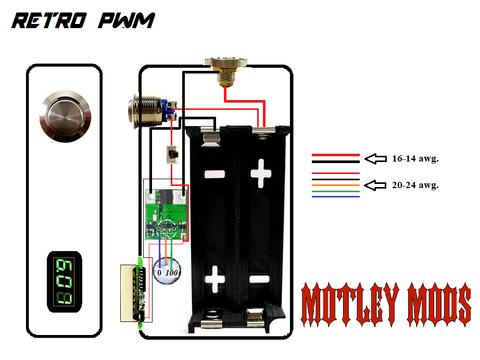 BOX MOD WIRING DIAGRAMS - Motley Mods llc | ไอเดีย ...