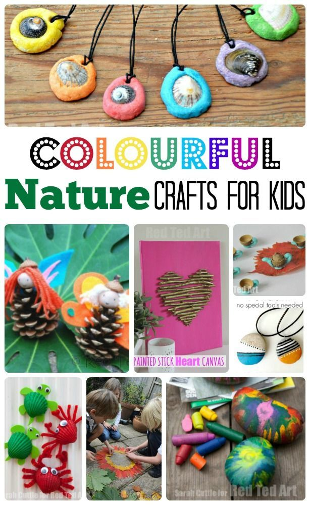 Easy Nature Crafts For Kids Want Need Love Pinterest