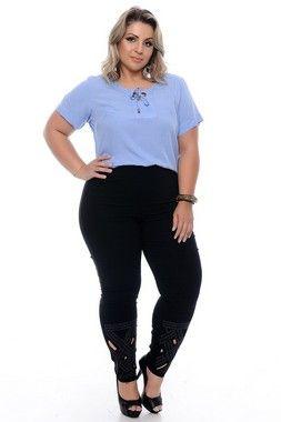 9529a5ffa Calça Jeans Plus Size Dheeila   Daluz Plus Size - Loja Online - Daluz Plus  Size   A Loja Online Plus Size que mais cresce no Brasil!