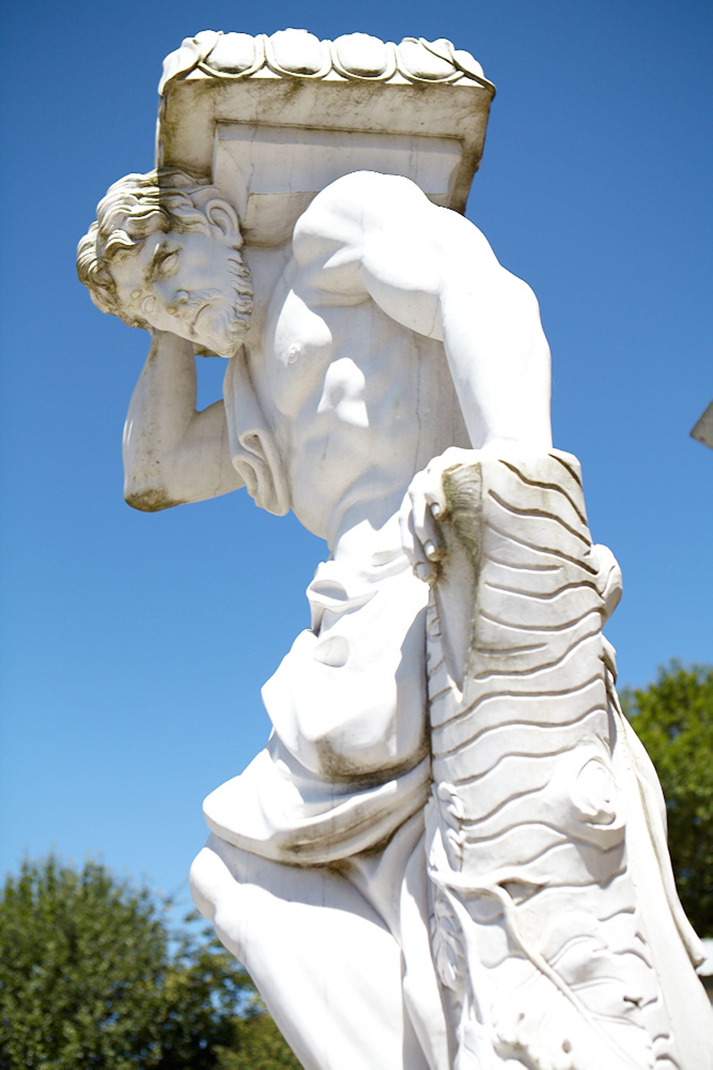 Stunning Reclaimed Statue For The Garden