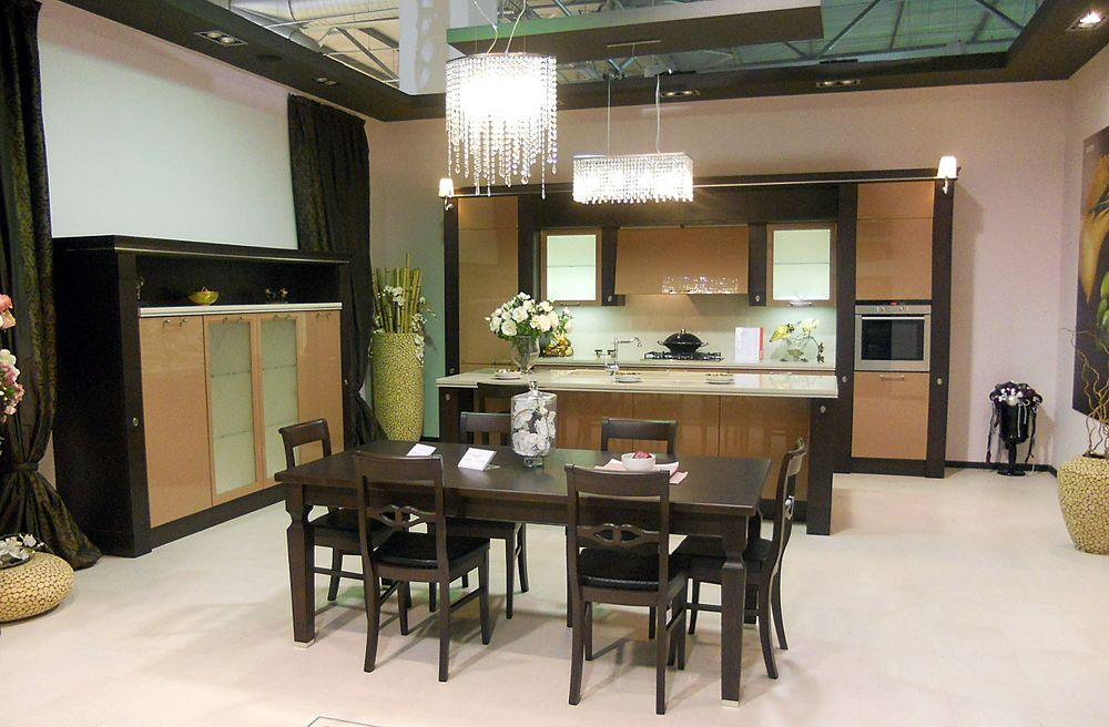 The scavolini store zagreb by i v dizajn is an exclusive for Scavolini cabinets
