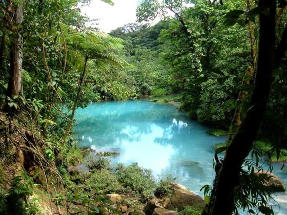 <p> Río Celeste (Volcan Tenorio) </p>