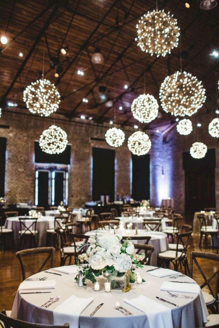 Gross 15 Schone Indoor Hochzeitsideen Winter Dekoration