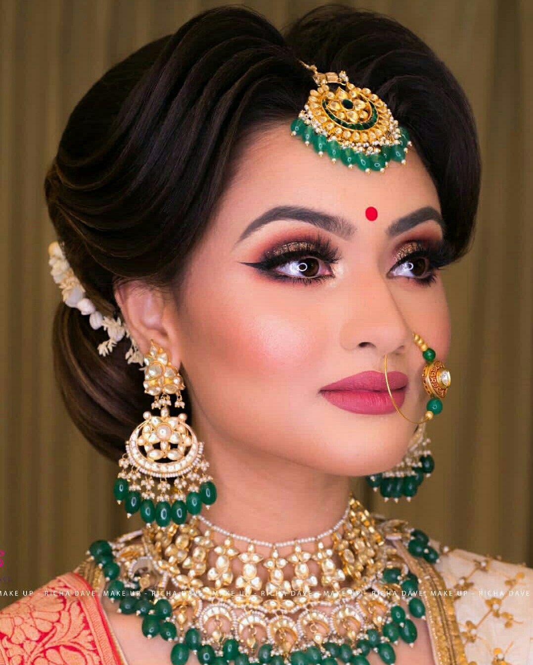 Indian Wedding Makeup: Pin By Rmn Nyyr On Wedding Jewelry
