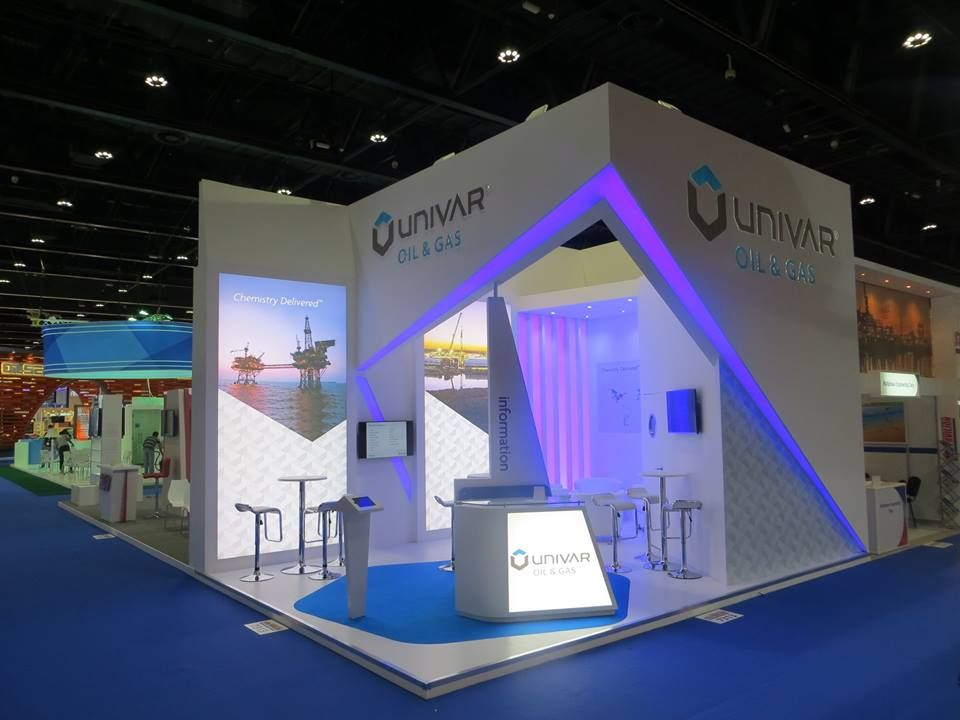 Exhibition Stand Design Abu Dhabi : Univar at adipec abu dhabi adnec driscoll brothers