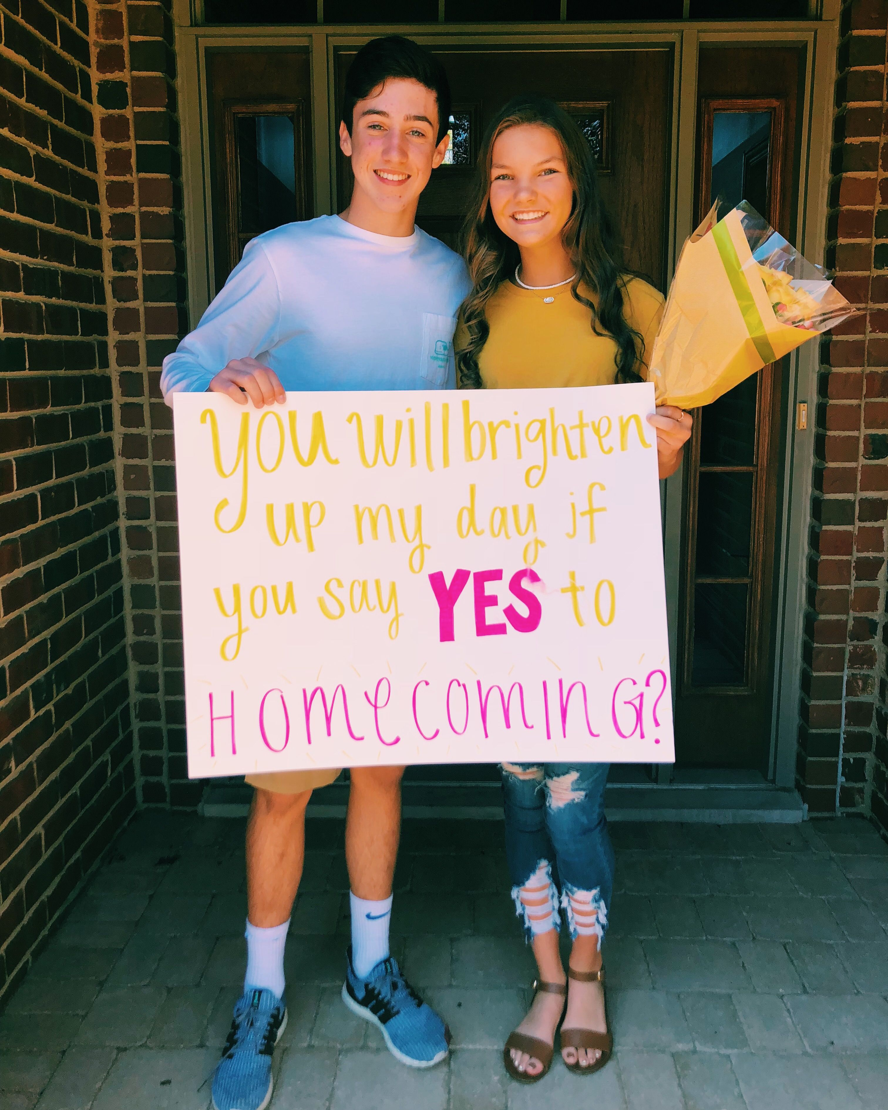 Cute hoco proposal!!!