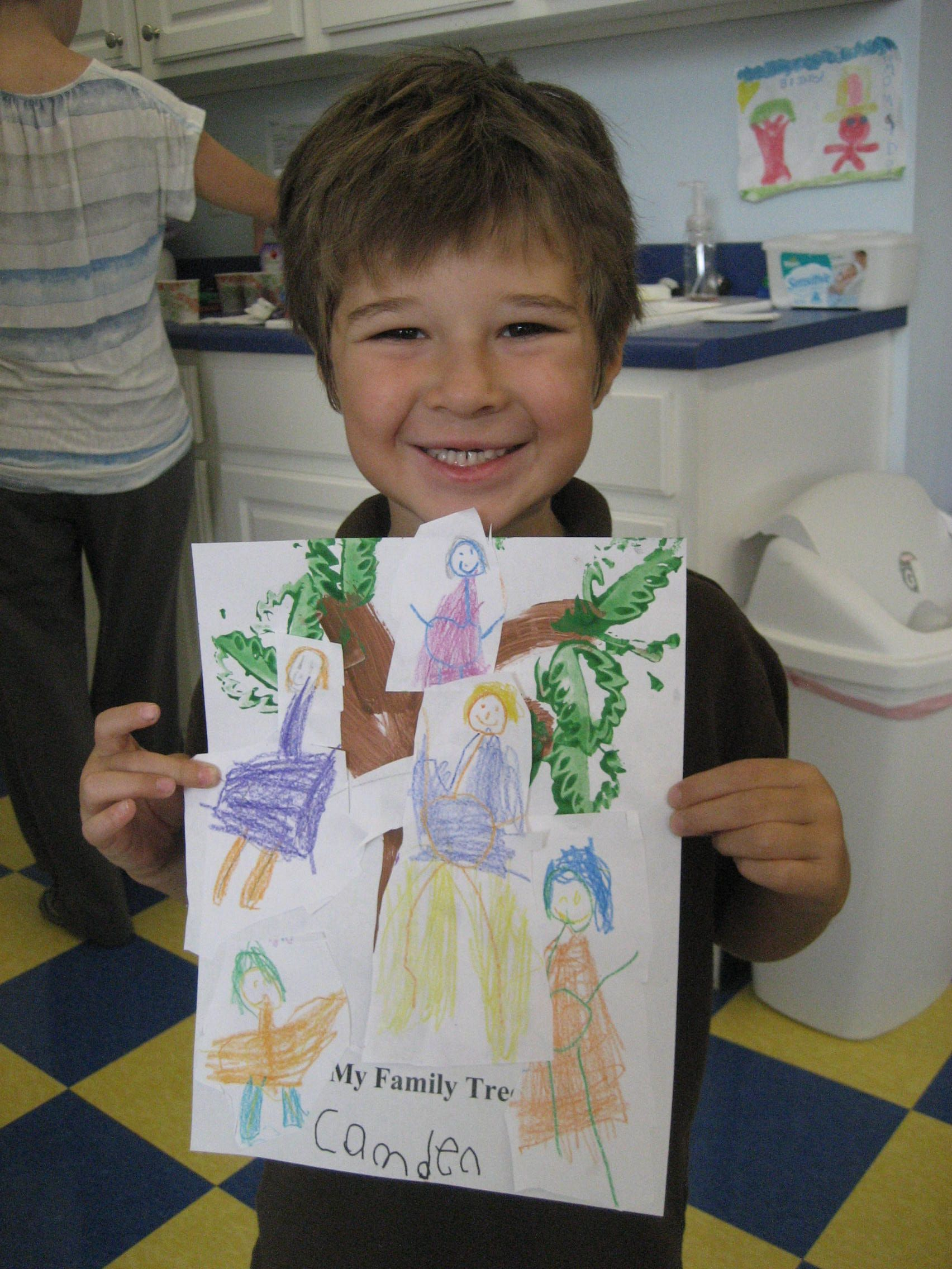 Family Tree Creative Tots Mason Preschool