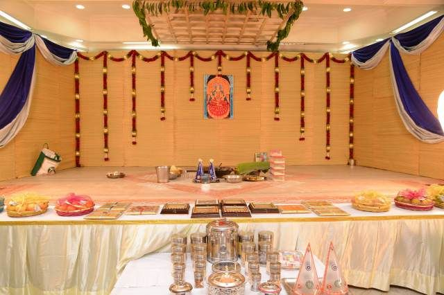South Indian Style Decor Wedding Stage Backdrop Diy Backdrops Plates