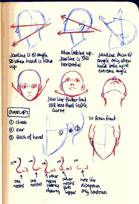 Pin By Sariah Collard On Time To Create Drawing Tips Face Angles Face Drawing