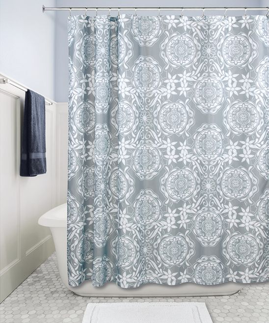 Unique Gigi Ivory Shower Curtain Frieze - Bathtub Ideas - dilata.info
