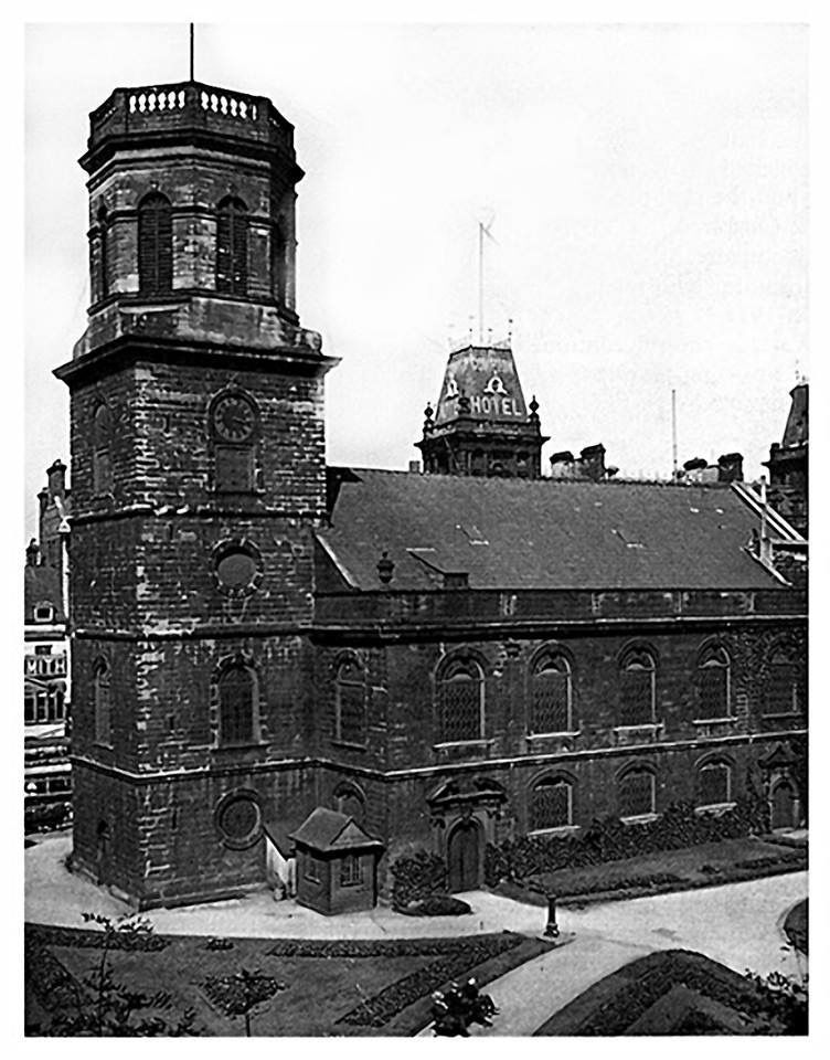 St Peter's Church, Church St c.1920 Liverpool history
