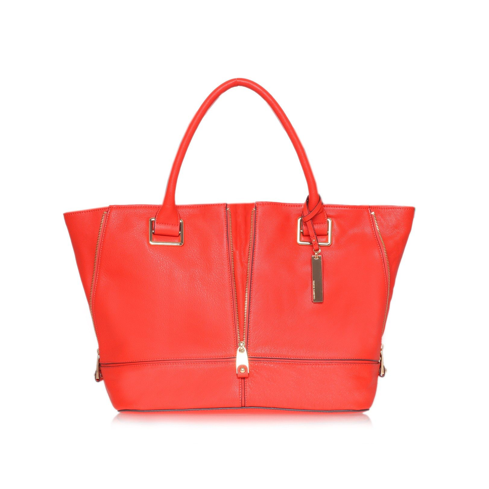 Iris Tote Orange Bag By Vince Camuto Bags Zingy Cheerful