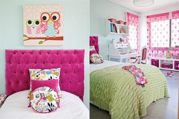 Cuartos para nenas femeninos y frescos fresco bedrooms for Cuartos de princesas