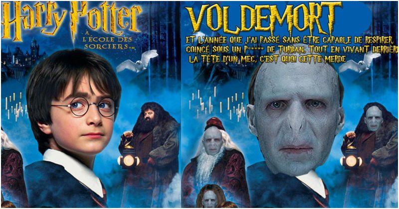 Couverture Livre Harry Potter Voldemort 3050