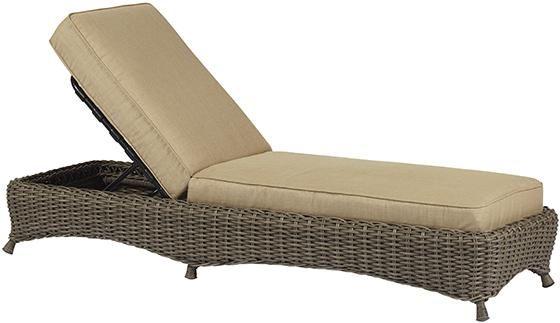 Martha Stewart Living™ Lake Adela Chaise Lounge - Chaise ... on Martha Stewart Living Chaise Lounge id=36578