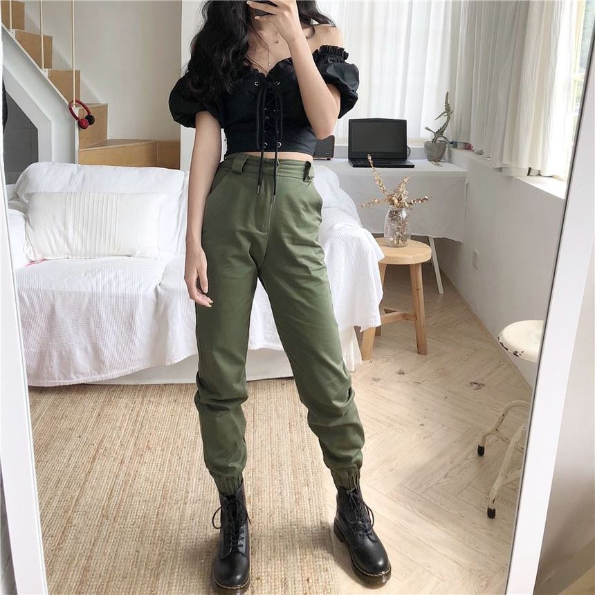 Velero Cuffed Jogger Pants Yesstyle Korean Fashion Fashion Fashion Outfits