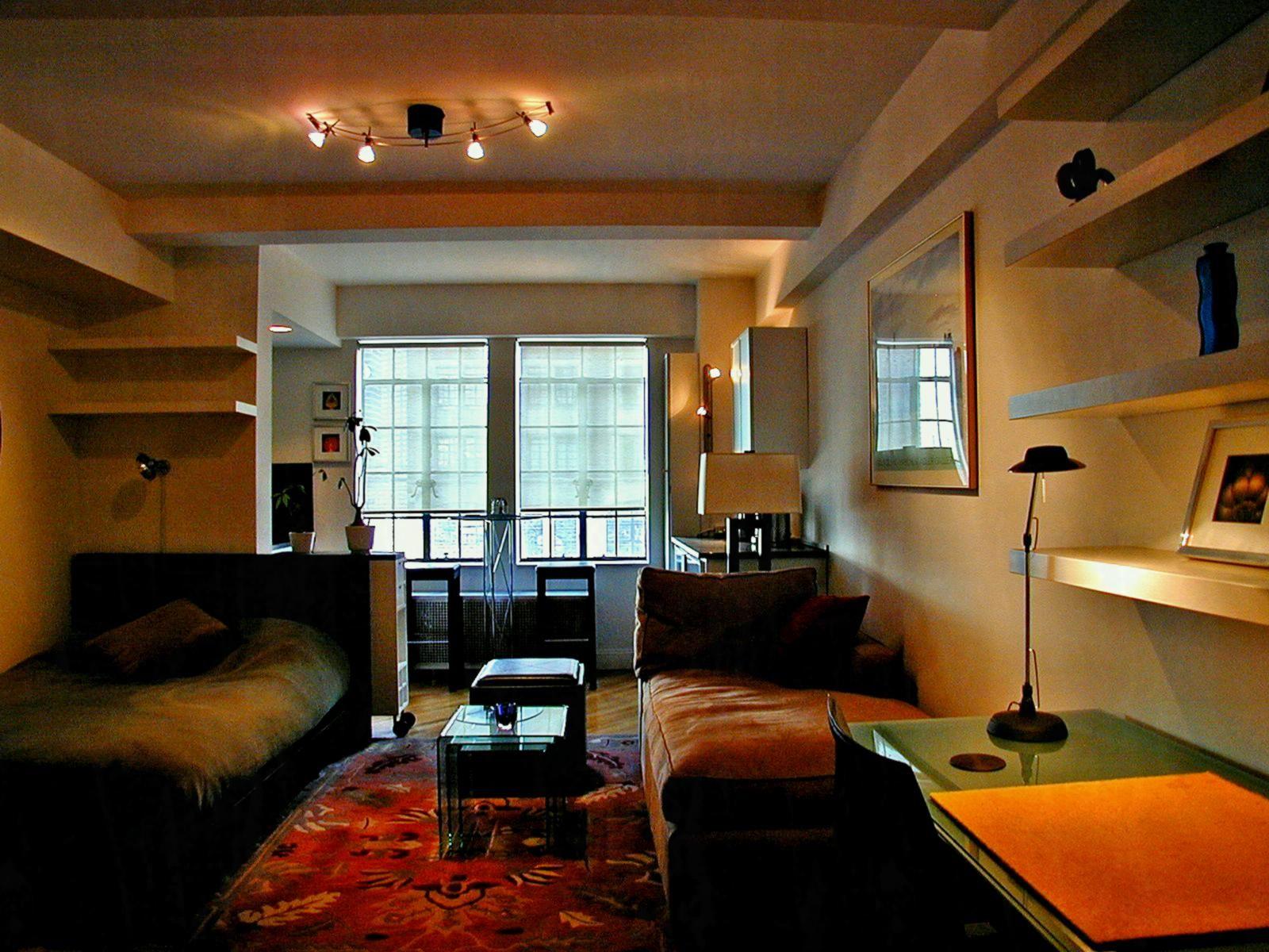 Brilliant Image Of Studio Apartment Ideas Diy Ikea Mens Decor Masculine Design Bachelor Pad