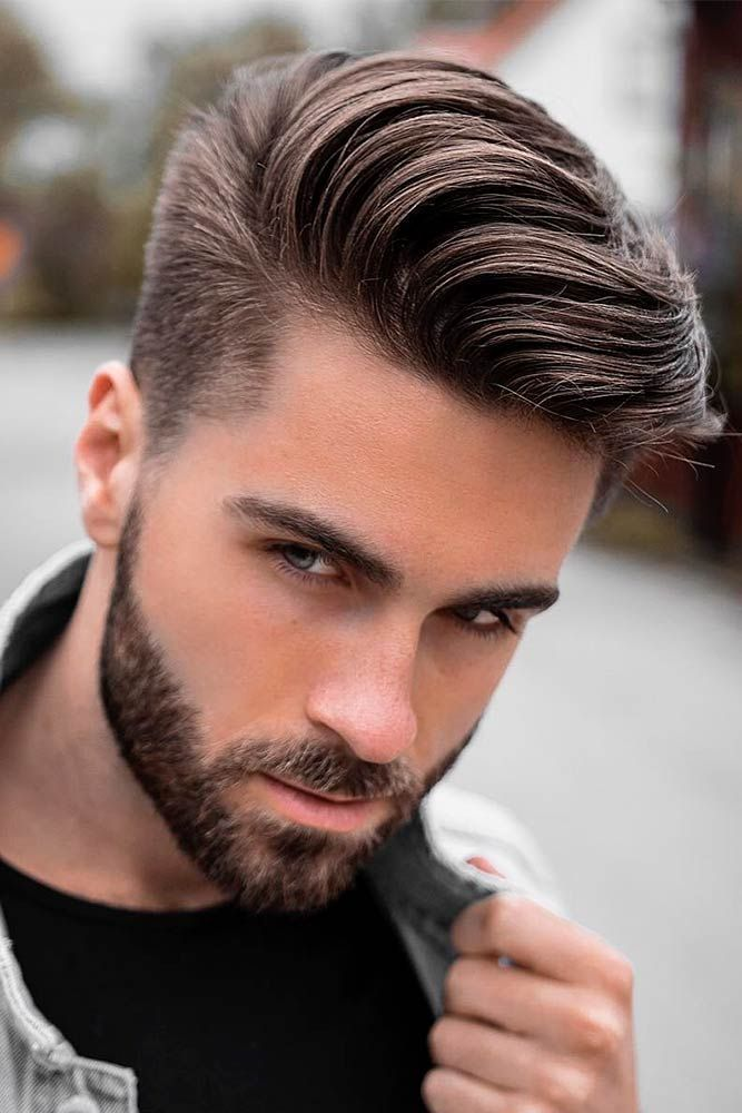 Opt For A Comb Over Haircut To Stay Up To Date Hair Pinterest