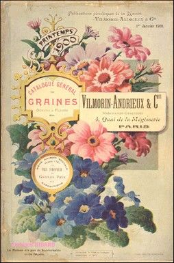 French seed catalogue vilmorin 1900 vintage for Vilmorin graines