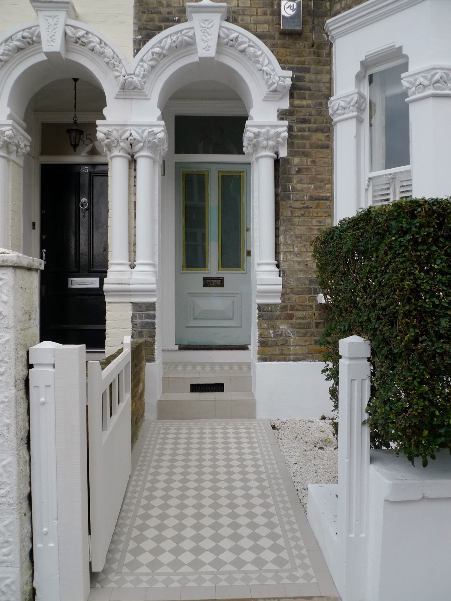 victorian mosaic tile path design london (With images ...