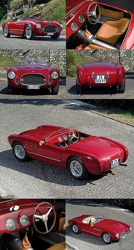 1952 Ferrari 225S Spyder par Vignale