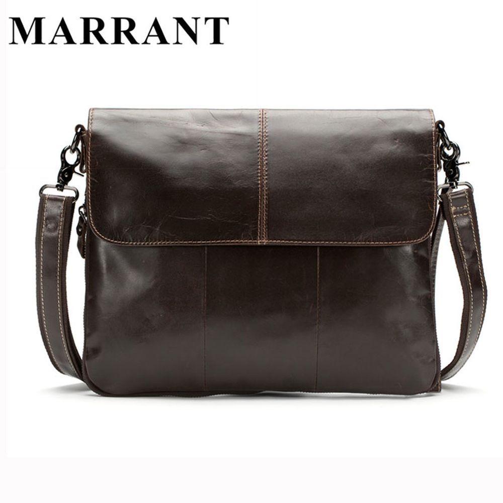 MARRANT Genuine Leather Men Bags Men s Crossbody Bag New Travel Bag ... 3be74816c74db