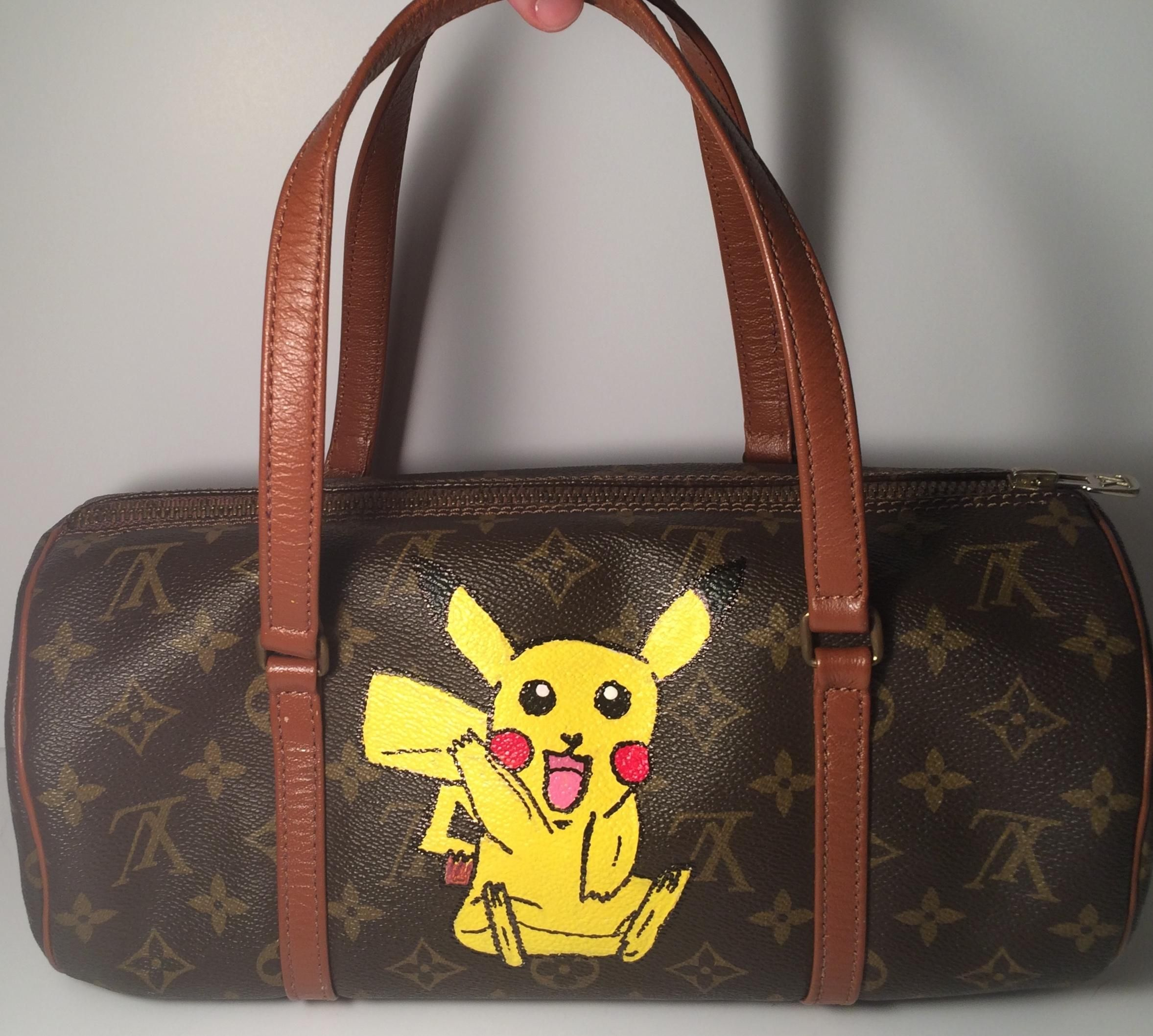 477fa4c35b6 Louis Vuitton Papillon 30 844 Pokemon Inspired Handbag Brown Monogram Tote  Bag. Get one of the hottest styles of the season! The Louis…