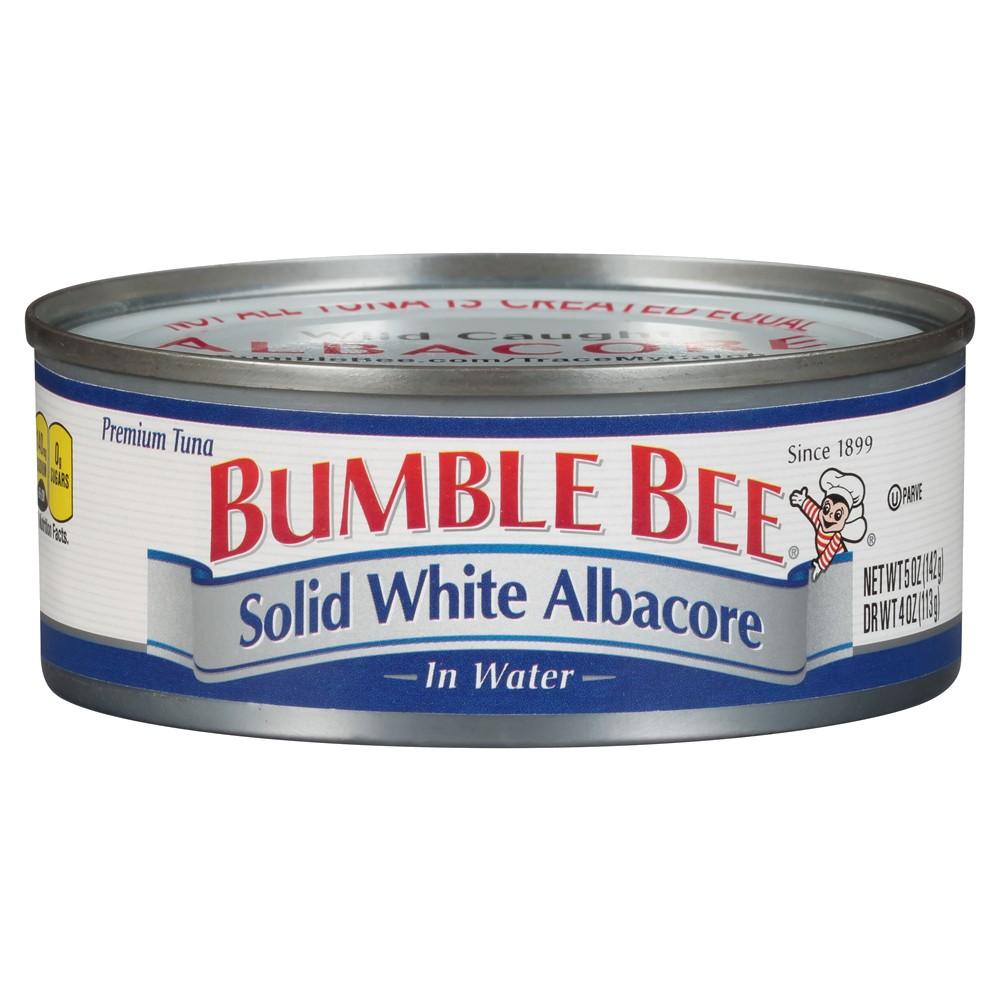 Bumble Bee Solid White Tuna 5 oz