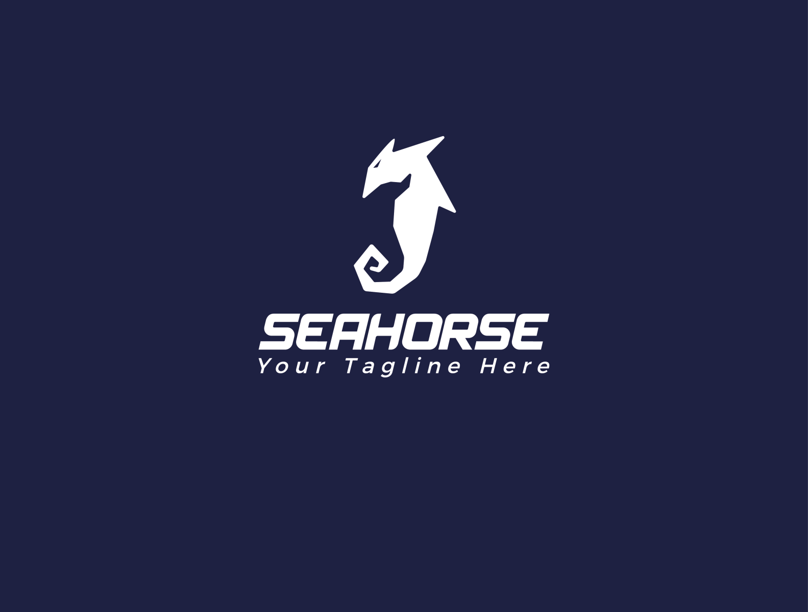 Sea Horse Logo Horse Logo Horse Logo Design Seahorse