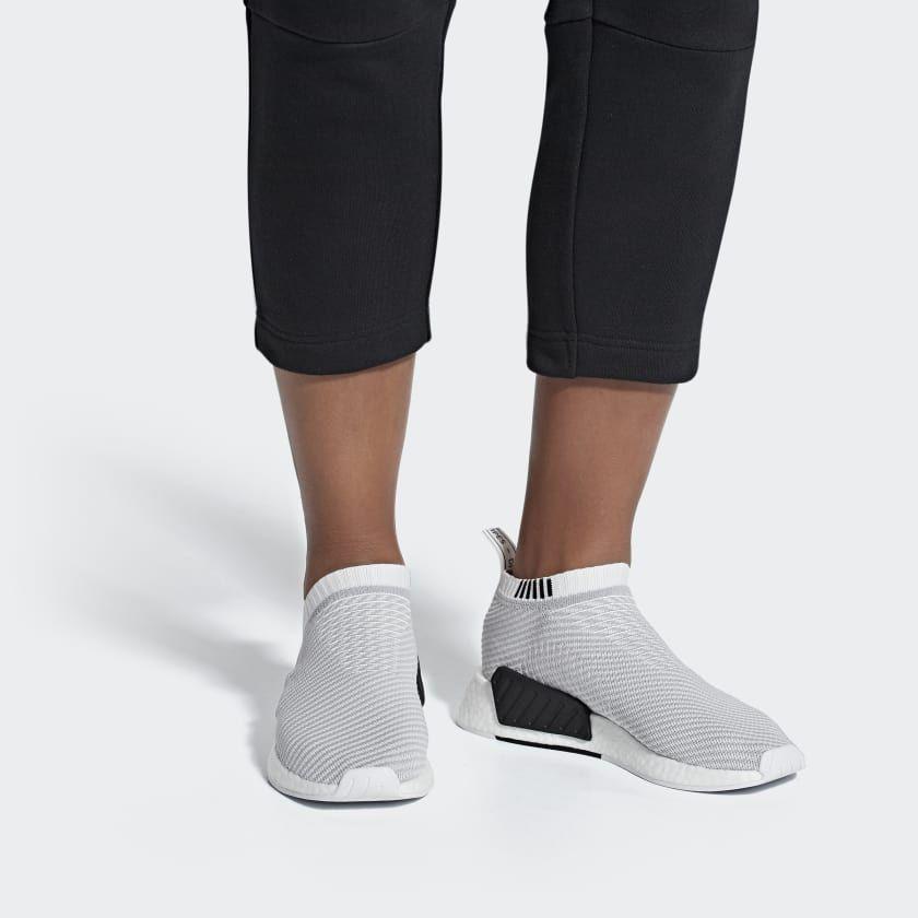 adidas NMD_CS2 Primeknit Shoes - White